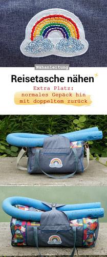 Makerist - Reisetasche nähen - Nähprojekte - 3