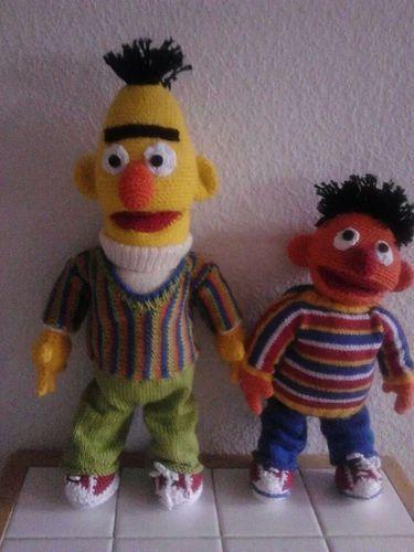 Makerist - Ernie und Bert - Häkelprojekte - 1