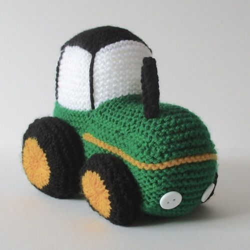 Makerist - Tractor - Knitting Showcase - 2