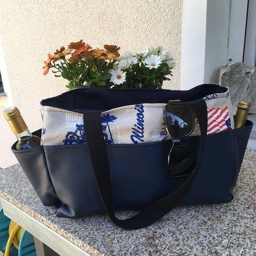 Makerist - Shopping Bag Malme - Die Strandtasch - Nähprojekte - 1