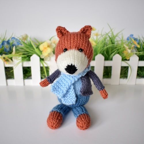 Makerist - Razzle the Fox - Knitting Showcase - 3