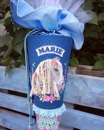 Makerist - Schultüte für Marie - Nähprojekte - 1
