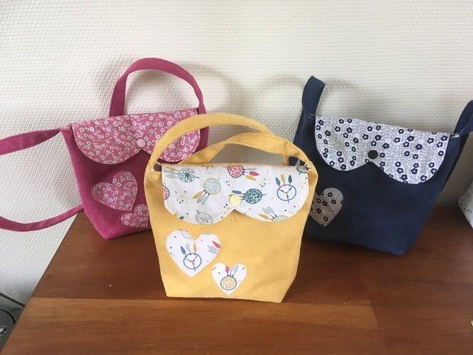 Makerist - Petit sacs pour fille - Créations de couture - 2