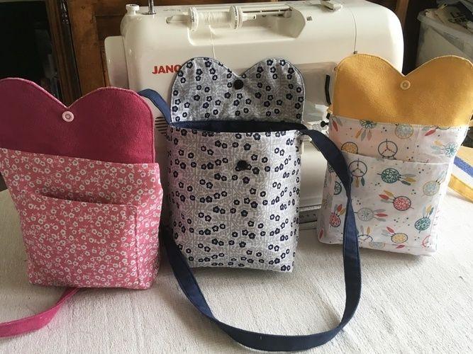 Makerist - Petit sacs pour fille - Créations de couture - 3
