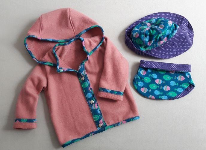 Makerist - Kuscheljacke für Amelie - Nähprojekte - 1