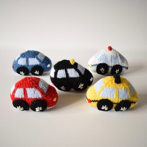 Makerist - Toy Cars - Knitting Showcase - 2
