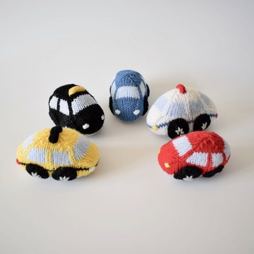 Makerist - Toy Cars - Knitting Showcase - 3