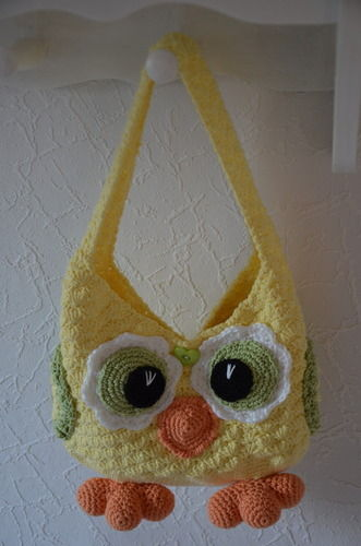 Makerist - Kindertasche Eule - Häkelprojekte - 1