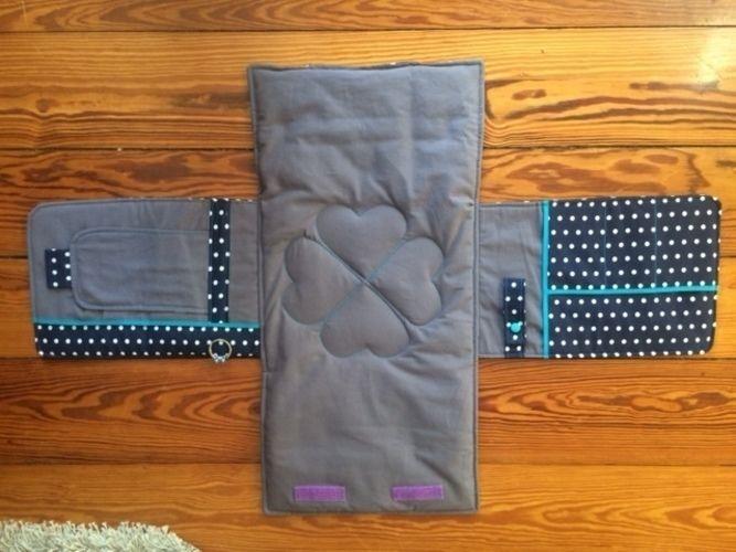 Makerist - Wickeltasche mit integrierter Wickelunterlage (von Lange Hand) - Nähprojekte - 2