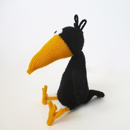Makerist - Johnny the Crow - Knitting Showcase - 2
