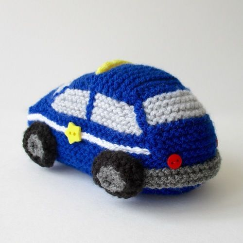 Makerist - Emergency Vehicles - Knitting Showcase - 2