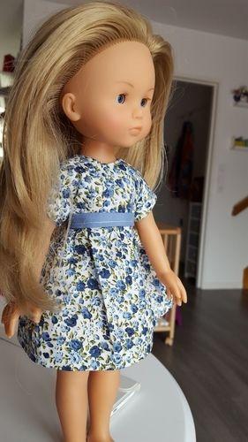 """Makerist - Robe """"cerise"""" pour poupée  - Créations de couture - 1"""