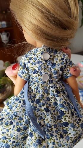 """Makerist - Robe """"cerise"""" pour poupée  - Créations de couture - 2"""