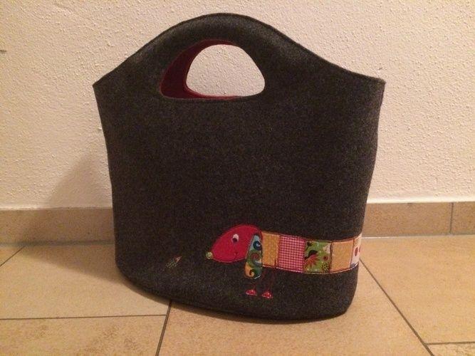 Makerist - Taschen aus Wollfilz mit Nähmalerei - Nähprojekte - 2