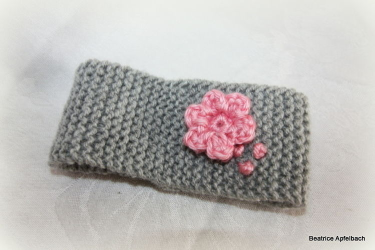 "Makerist - Babystirnband ""Princess"" - Strickprojekte - 1"