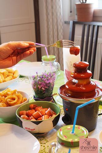 Makerist - Ein Currywurst-Brunnen zum 6. Geburtstag - Torten, Cake Pops und Cupcakes - 1