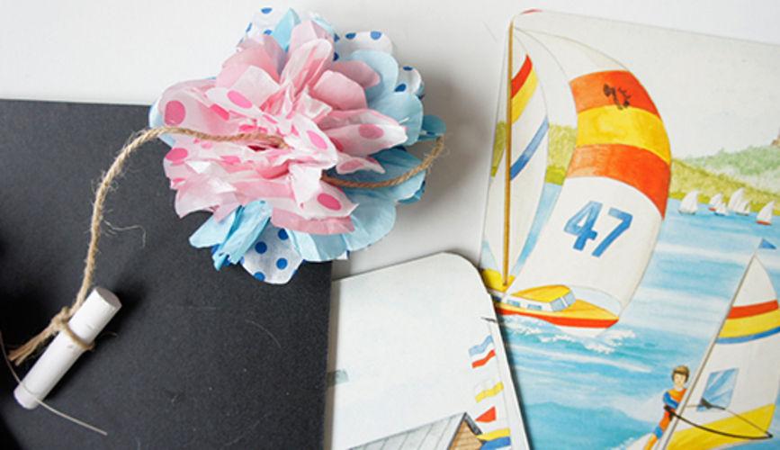 Makerist - Einladungskarten Pompom - DIY-Projekte - 1