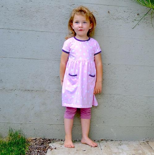 Makerist - Sommerkleid in rosa - Nähprojekte - 1