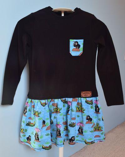 Makerist - Der kleine Maulwurf als Kleidchen in Gr. 110/116 - Nähprojekte - 1
