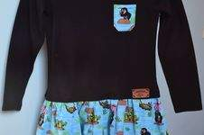 Makerist - Der kleine Maulwurf als Kleidchen in Gr. 110/116 - 1