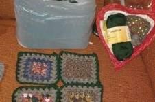 Makerist - Große Decke aus Granny Square, für meinen Enkelsohn - 1