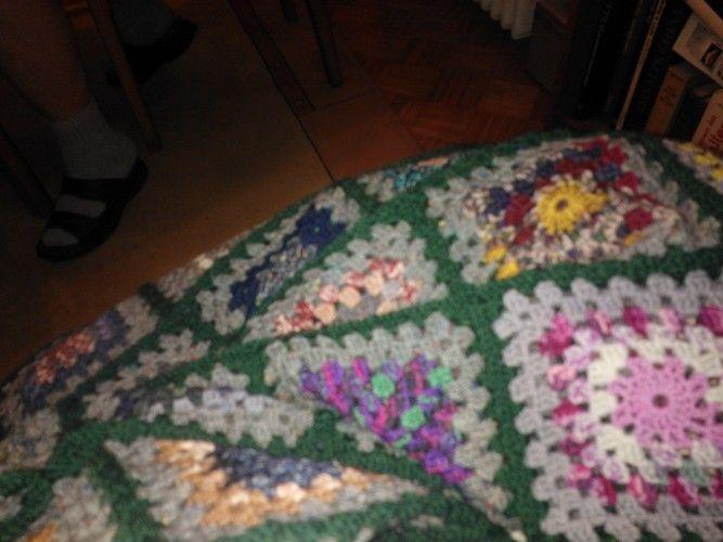 Makerist - Große Decke aus Granny Square, für meinen Enkelsohn - Häkelprojekte - 2