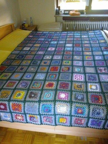 Makerist - Große Decke aus Granny Square, für meinen Enkelsohn - Häkelprojekte - 3