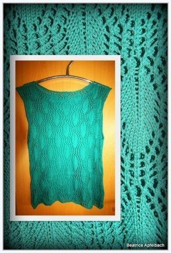 Makerist - Feather Sweater - Strickprojekte - 3