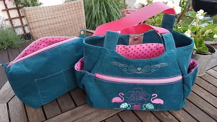Makerist - Glorietta loves flamingos - Nähprojekte - 3