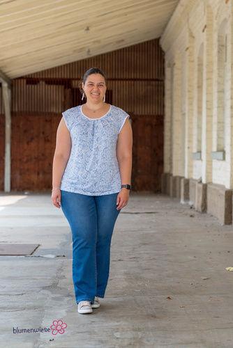 Makerist - Mein neues Lieblingsshirt: Lady Leana von mialuna - Nähprojekte - 2