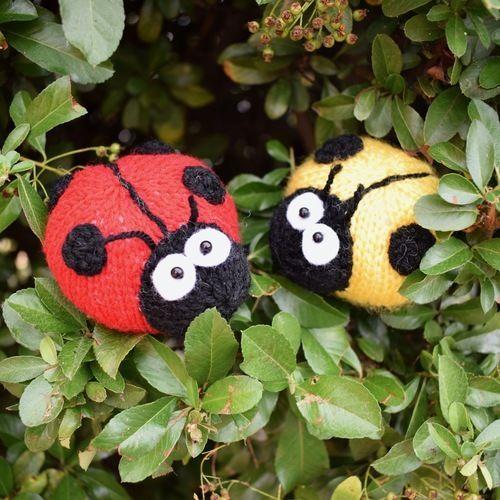 Makerist - Spots the Ladybird - Knitting Showcase - 3