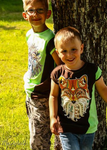 Makerist - Tilt-Shirt aus Jersey für meine Jungs genäht - Nähprojekte - 1