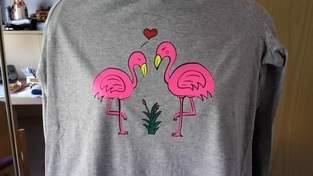 "Makerist - ""Flaminga&Flamingo""  geplottet von SIBELY ART - 1"
