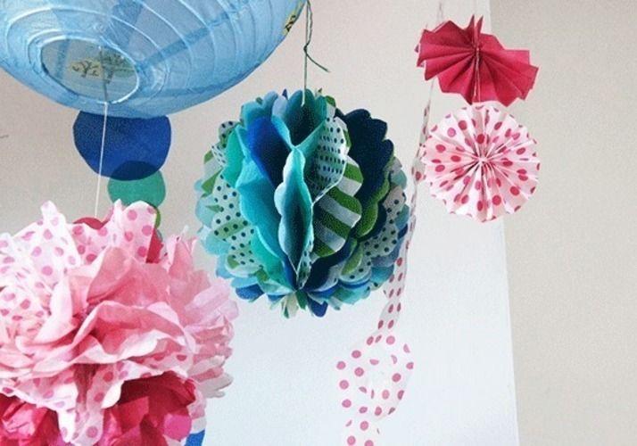 Makerist - Wabenbälle und Pompom - DIY-Projekte - 1