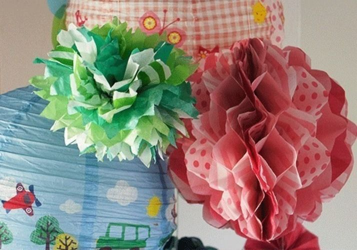 Makerist - Wabenbälle und Pompom - DIY-Projekte - 3