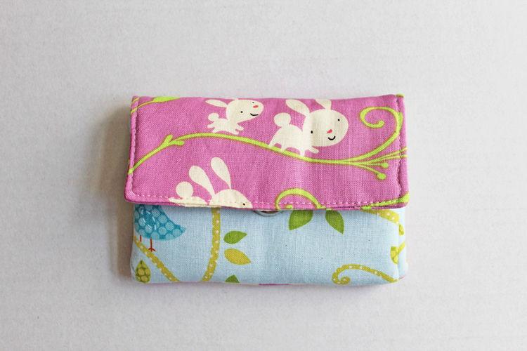 Makerist - Portemonnaie mit Häschen und Eulen - Nähprojekte - 1