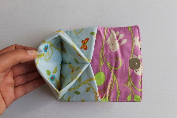 Makerist - Portemonnaie mit Häschen und Eulen - Nähprojekte - 2
