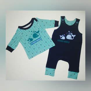 Strampler und Babyshirt - Klimperklein
