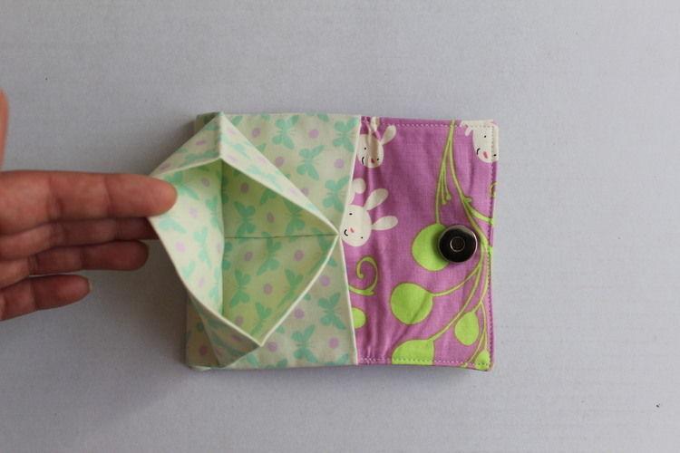 Makerist - Portemonnaie mit Häschen und Schmetterlingen - Nähprojekte - 2