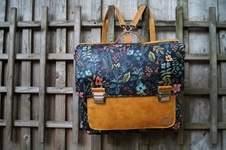 Makerist - Leonable Vintage Schoolbag von Lalilly-Herzilein - 1