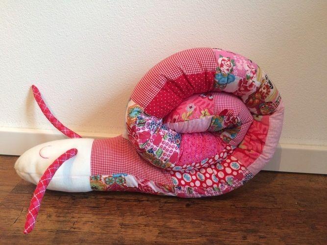 Makerist - Puckschnecke und Bettschlange für Babys - Nähprojekte - 1