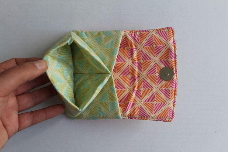 Makerist - Portemonnaie mit farbigen Quadraten - Nähprojekte - 2
