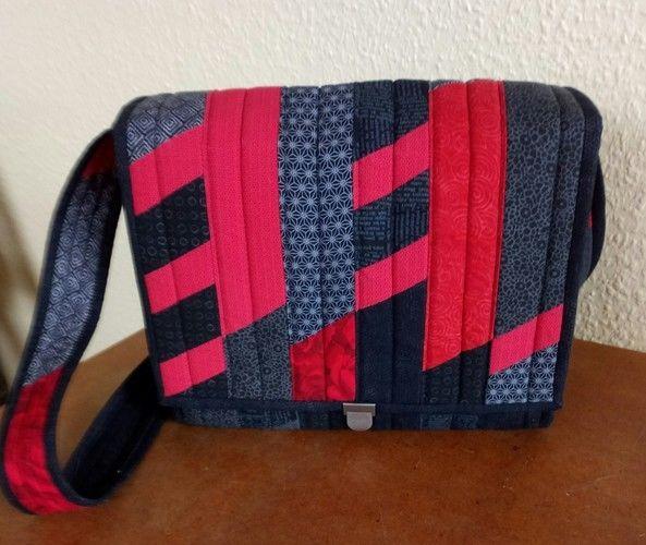 Makerist - Tasche, Anleitung von Gunhild Müller - Patchwork-Projekte - 1