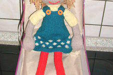 Makerist - Strickpuppe Claudia´s 50. Geb. - 1