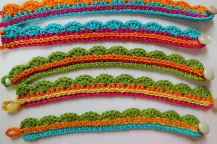 Makerist - sommerliche Armbänder - Häkelprojekte - 1