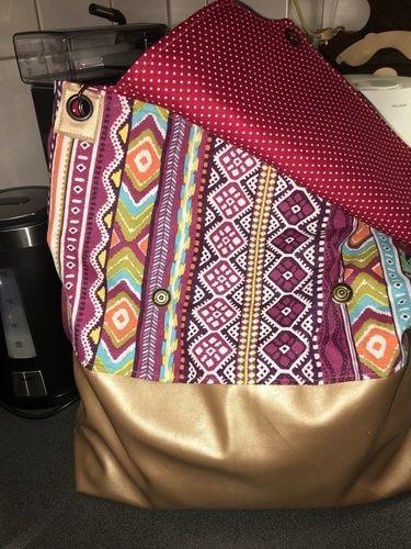 Makerist - Meine Bodega XXL Tasche - Nähprojekte - 2