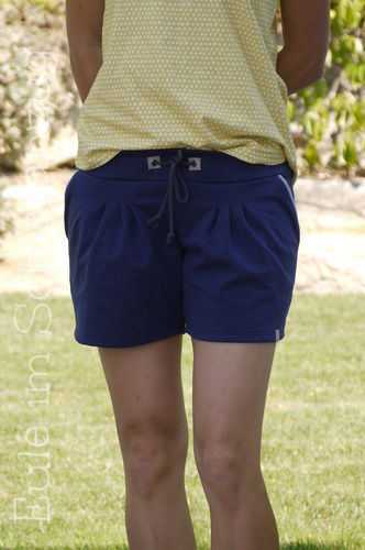 Makerist - Julika als Shorts aus Sweat mit Pseudopaspel an den Taschen - Nähprojekte - 1