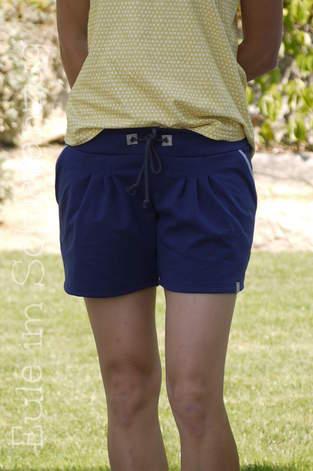 Makerist - Julika als Shorts aus Sweat mit Pseudopaspel an den Taschen - 1