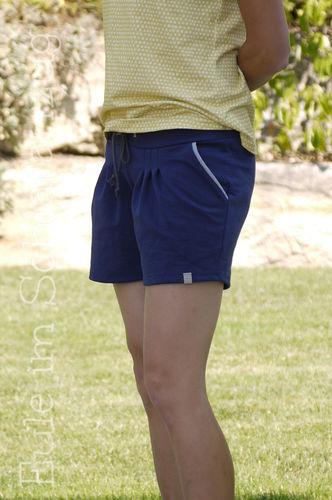 Makerist - Julika als Shorts aus Sweat mit Pseudopaspel an den Taschen - Nähprojekte - 2