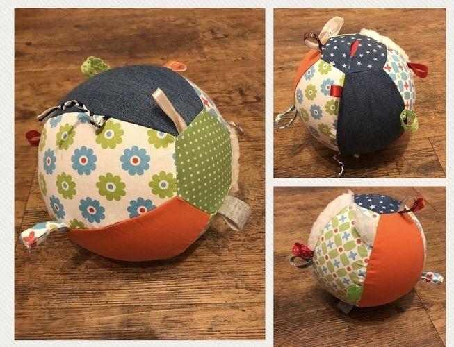 Makerist - Luftballonhülle und Greifball für Babys - Nähprojekte - 1